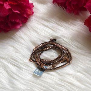Rose Gold Wrap Bracelet